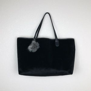 Faux Mohair Tote